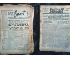 Antik, régi újságok 1942-től vegyesen