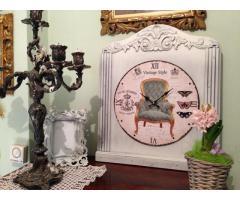 Provence bútor, antikolt fali óra 1.