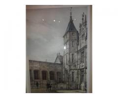 Metszet - francia reneszánsz épület