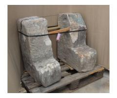 Kerékvető kő pár