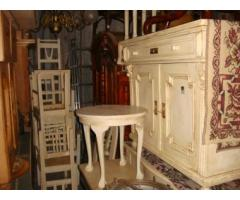 Antikolt fehér vakszolt bútorok nagy választékban olcsón