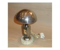 Art-deco óra lámpa