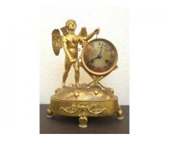 Francia XVIII. századi aranyozott bronz
