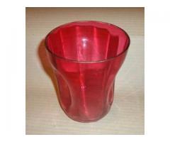 Üveg váza (szőlőmosó)
