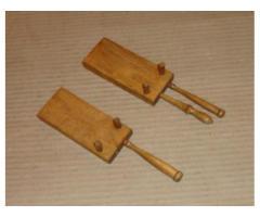 Fa csigatészta készítő