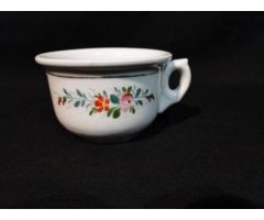 3909 Antik porcelán komabögre HIBÁTLAN