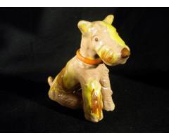 R134 H Rahmer Mária kerámia kutya szobor