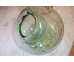 Különleges antik üvegkancsó eladó!