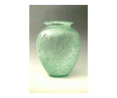 Karcagi fátyolüveg váza