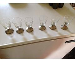 Pálinkás poharak