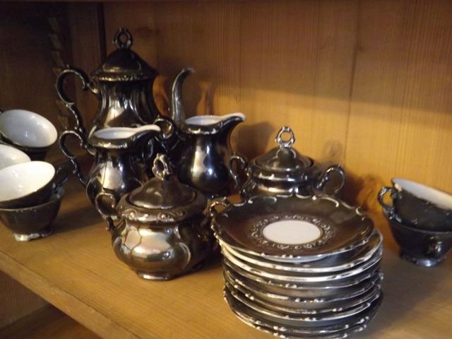 Bavaria ezüstözött kávés készlet