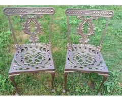 Dekorativ aluöntvény kerti szék