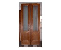 Tölgyfaajtó, régi bontott beltéri ajtó