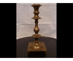 1894 Antik bronz gyertyatartó 1700-as évekből