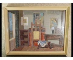 3060 Képcsarnokos Piri Kálmán műteremben