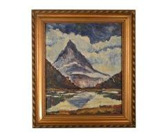 3208 Erich Stetten német festő Alpok 1944