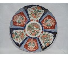 3363 Antik japán IMARI falitál XIX. század 40cm