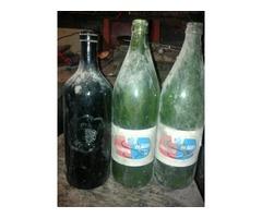 Régi boros szodás gyogyszeres sörös üvegek