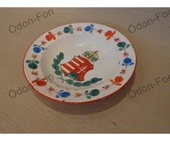 Címeres festett tányér
