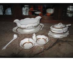 Moritz Zdekauer porcelán étkészlet