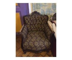 Neobarokk fotel, 2 db