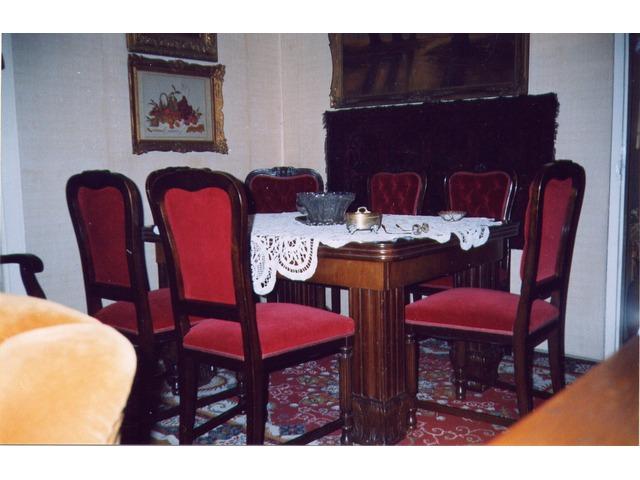 Kozma barokk ebédlő garnitúra II. kerület AntikPiac.hu