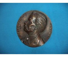 Id Éber Sándor 1878-1947 bronz plakett