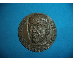 REX (III.) Béla 1172-1196 bronz emlékplakett