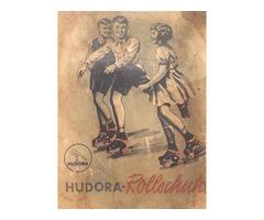 Vintage Hudora görkorcsolya (1940)
