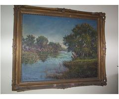 Antik olaj festmény