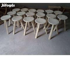 Suszterszék 3 lábú szék
