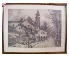 Hugo Henschl: Városrészlet
