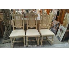 Antik szék, fotel, pad, lóca Vác oldal 9 AntikPiac.hu