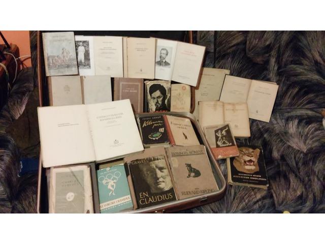 Régi könyvek eladók (1950-1960)
