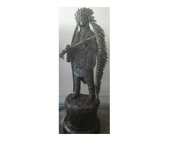 Gigantikus indiàn bronz szobor