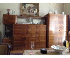 nappali ,szekrénysor +kihúzható kanapé, fotel