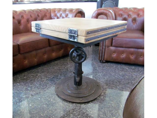 Industrial, Loft kávézóasztal 1. IV. kerület AntikPiac.hu