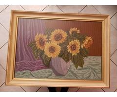 Gobelin 74 x 55cm Üvegezett keretben