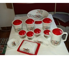 Hibátlan, sohasem használt 12 részes porcelánkészlet eladó