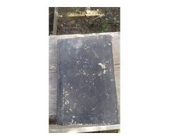 1872 kiadású idegen (szlovák?) nyelvű egyházi könyv, evangélium