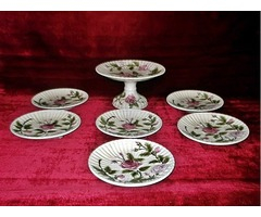 Hibátlan eredeti antik porcelán étkészlet Josef Steidl Znaim