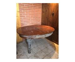 Antik étkező asztal