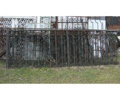 kovácsoltvas kapu kerítés korlát.