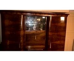Antik diófa szekrénysor gyönyörű állapotban
