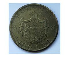 500 Lei (réz) 1945