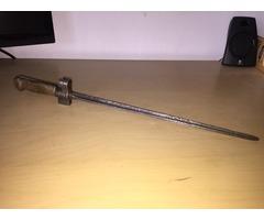 Mle 1886/16 Lebel Bayonet szurony réz markolattal 1915