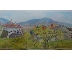 Viktor Bleyer akvarell