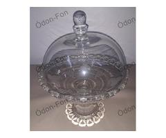 Asztali üveg kínáló burával