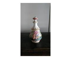 Capo di Monte antik porcelán váza