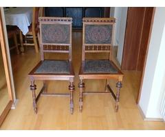 XX. század eleji felújított székek (4db)